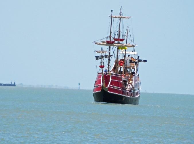Red Dragon Pirate ship 1