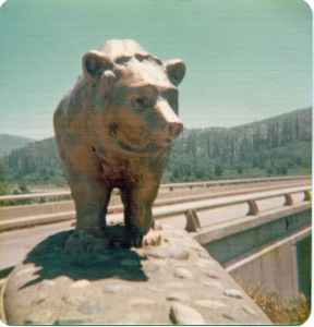 Bear at Hoover Dam 1976 edit