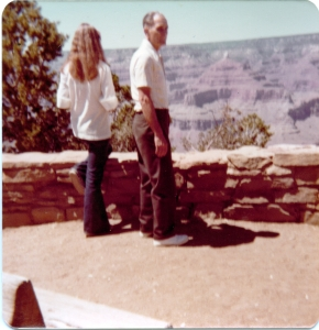 me back and Pa side grand canyon