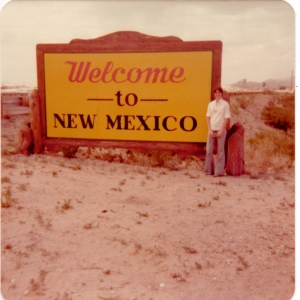 Me New Mexico sign