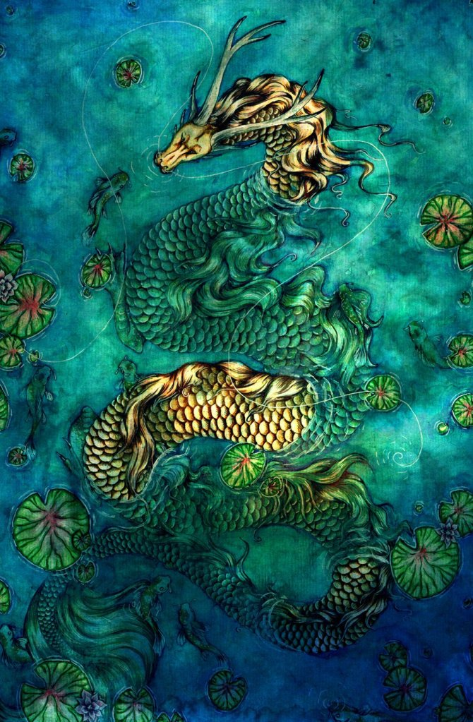 The Koi Pond by Collette J Ellis
