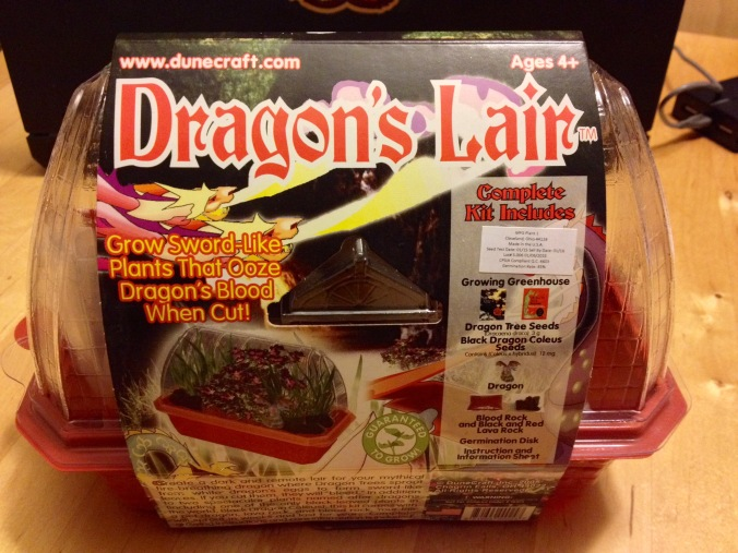 Dragon's Lair box side one - 1