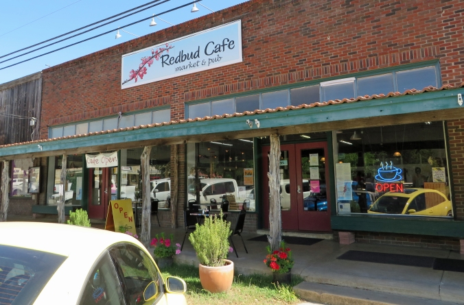 Exterior of Redbud Cafe & Pub