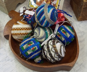 Lovely beaded ornaments
