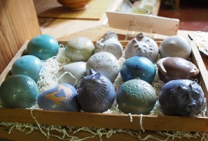 Cool pottery balls