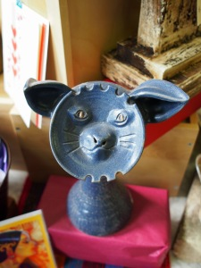 An unusual pottery piece