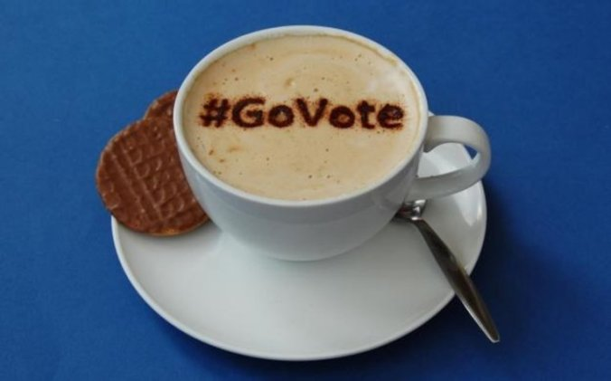 Go vote coffee