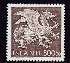 Dragon Stamp Iceland