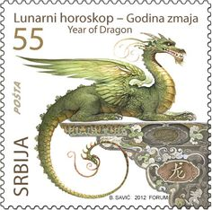 Dragon Stamp