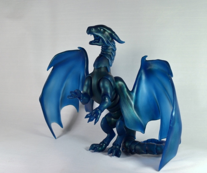 Ball joint dragon with wings