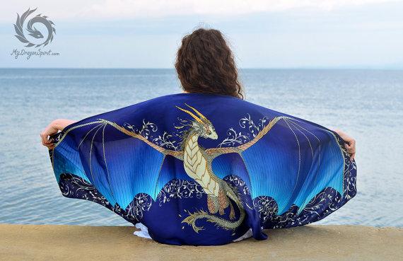 My Dragon Spirit blue dragon il_570xN.1039648289_thm2