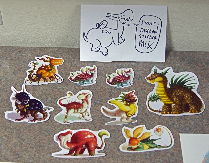 Fruit Dragon Stickers