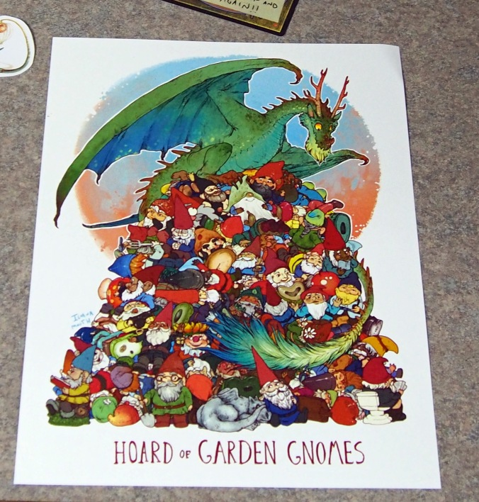 Unusual Hoards - Hoard of garden Gnomes