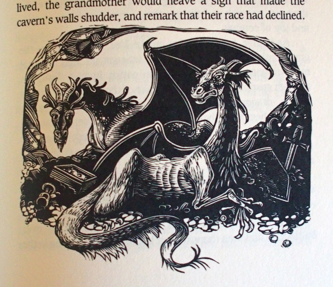 Two Dragons - illustration from the book